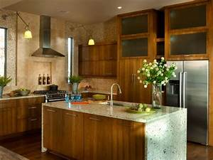 Eco friendly kitchen ideas tips hgtv for Green kitchen cabinets for eco friendly homeowners