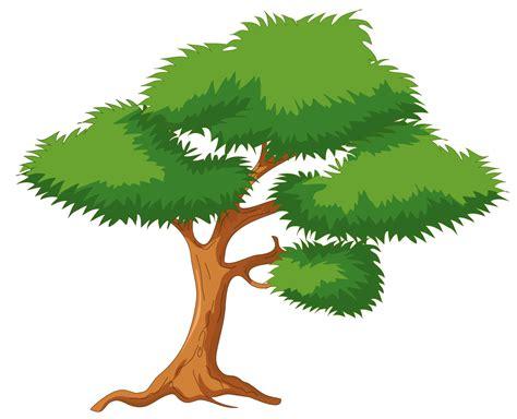 Green Cartoon Tree Png Clip Art