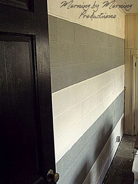 painted block wall photo gallery  nice fat grey