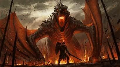 Fantasy Dragon Warrior 1080p