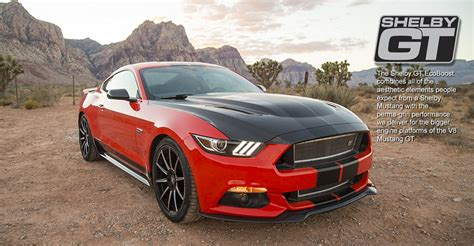 shelby gt ecoboost mustang boasts  hp costs
