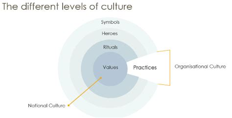 Different Levels Of by Dimensions Of Culture