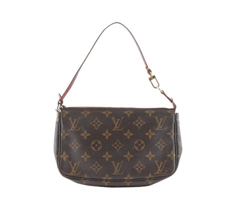 louis vuitton monogram pochette clutch bag