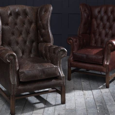 Leather Chesterfield Armchair by The Chesterfield Co Leather Chesterfield Sofas