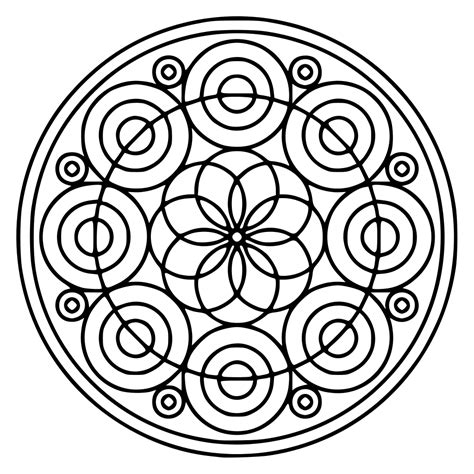 Almost files can be used for commercial. File:Mandala 52.svg - Wikimedia Commons