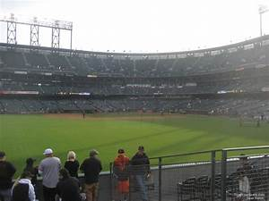 At T Park Seating Chart Rows Oracle Park Section 140 San Francisco Giants