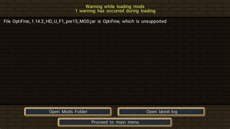 optifine  support bug reports minecraft forge