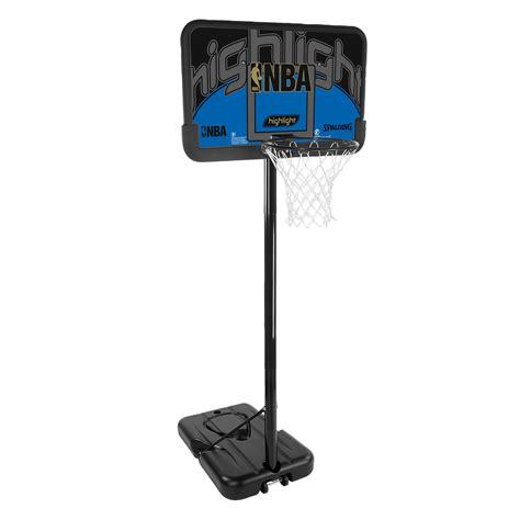 spalding nba highlight composite portable basketball