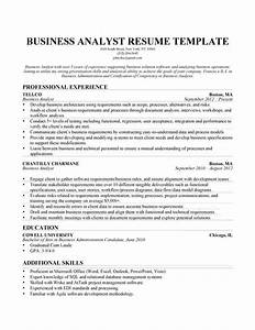 business analyst resume objective resume template 2018 With insurance business analyst resume sample