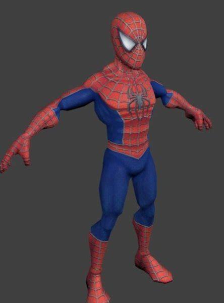 spiderman character   model id