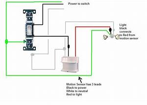 Outdoor Light Sensor Switch Wiring