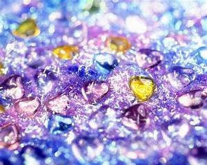 Purple Yellow Blue Hearts Wallpapers - HD Wallpapers 35938
