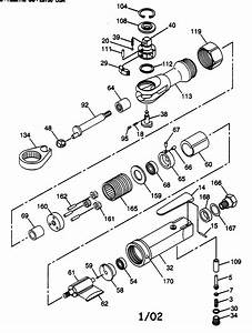 Chicago Pneumatic Air Ratchet Parts