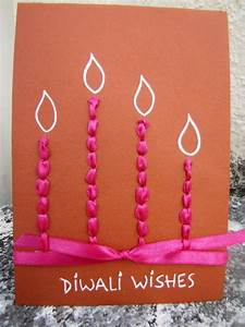 Diwali Homemade Greeting Card Ideas - family holiday net