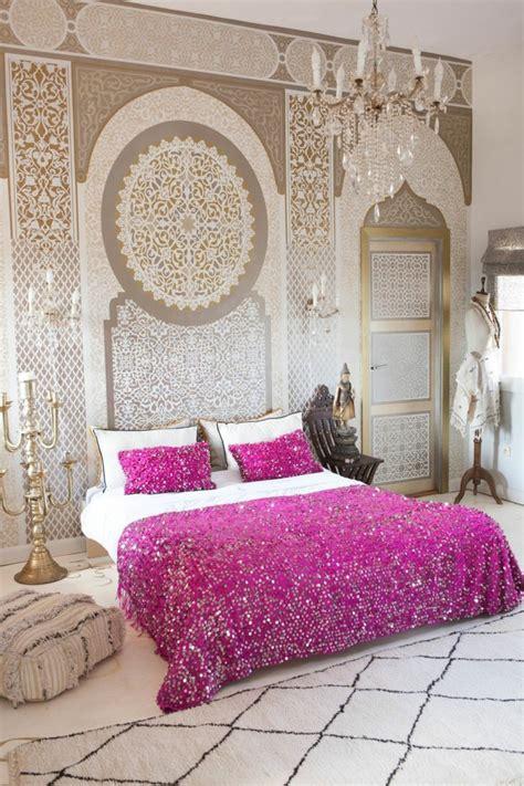 chambre orientale décoration chambre orientale peinture