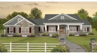 open floor plan ranch homes craftsman one story ranch house plans one story craftsman