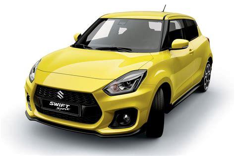 2018 Suzuki Swift Sport Previewed Ahead Of Frankfurt Motor