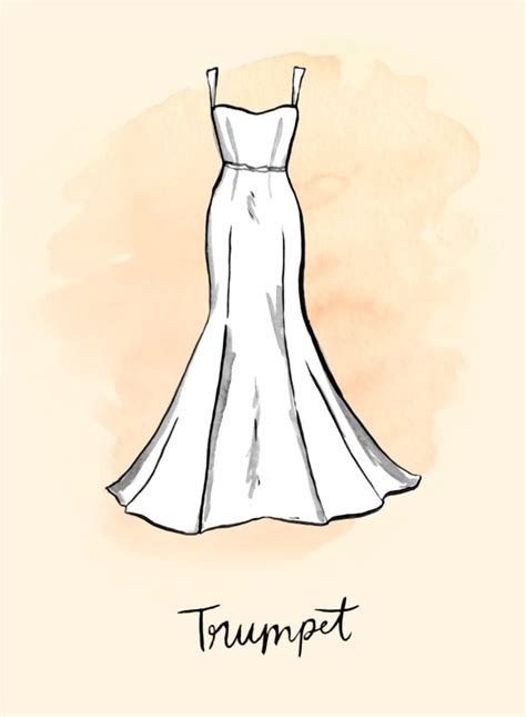 En este tutorial aprenderás a dibujar siluetas de gatos fácil paso a paso. Trumpet | Wedding Dress Shapes and Silhouettes | POPSUGAR ...