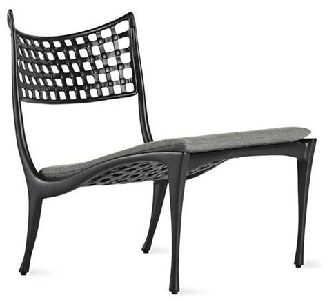 sol y armless lounge chair modern outdoor chaise