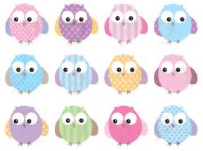 Owl Baby Shower Clip Art