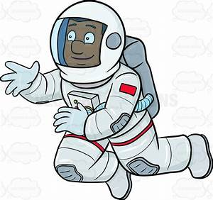 Black Male Astronaut - Pics about space