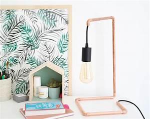 Lampe En Cuivre : diy une lampe en cuivre facile r aliser shylylovely ~ Carolinahurricanesstore.com Idées de Décoration
