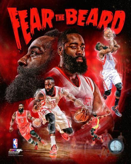 james harden fear  beard portrait  photo