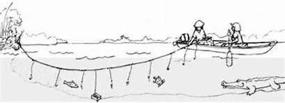 Trotline Trot Line Fishing Catfishing Catfish Trotlines