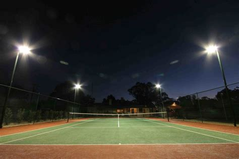 led tennis court lighting solution indoor outdoor sport