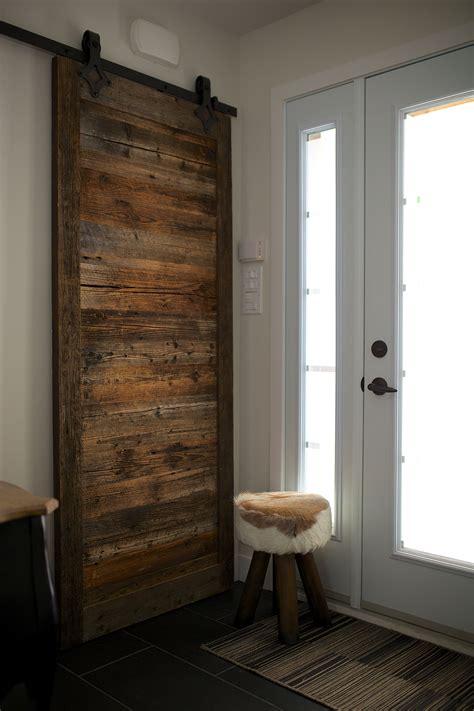 porte de grange coulissante espace bois inc