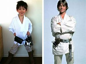 An Awesome (but simple!) Retro Luke Skywalker Costume ...