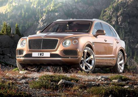 Bentley Bentayga  Photos Officielles Du Premier Suv