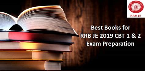 Best Cbt Best Books For Rrb Je 2019 Cbt 1 2 Preparation
