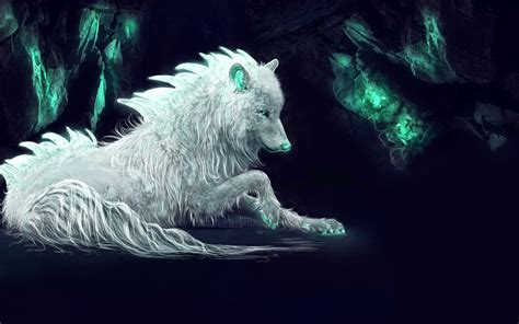 Digital Wolf Wallpaper by Wallpaper White Wolf Arctic Wolf Digital