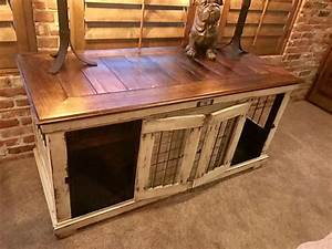 25 best ideas about dog crate furniture on pinterest With dog crate entry table