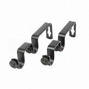 Home Decorators Collection Double Curtain Rod Brackets (2