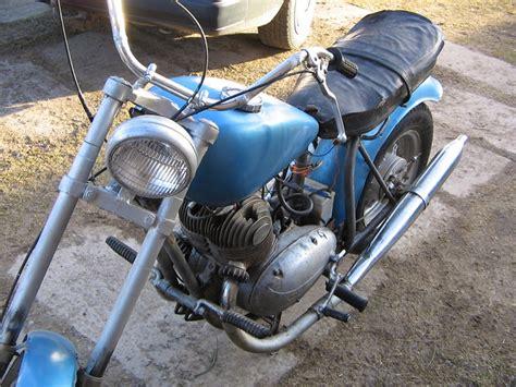 pārtaisītā panonia ar vecās jawas motoru