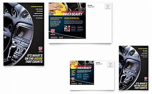 Library Brochure Templates Auto Detailing Business Card Letterhead Template Word