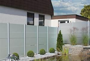 sichtschutz zaune aus glas von zaunteam zaune und tore With französischer balkon mit glaswand sichtschutz garten