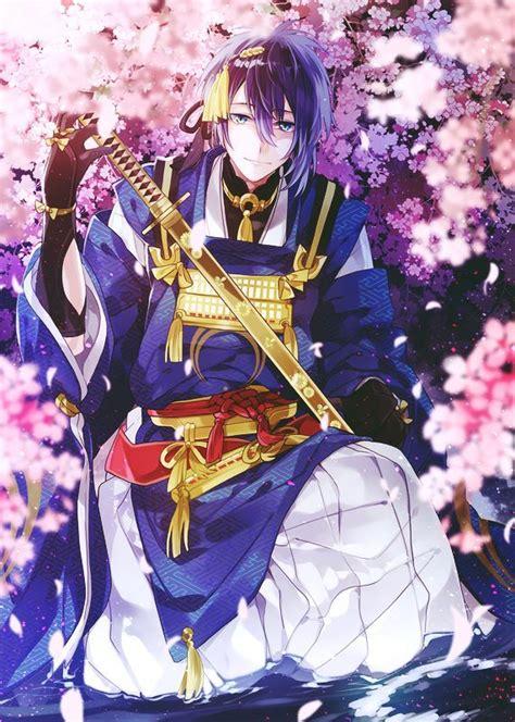 anime boy  katana animescans  wallpaper touken