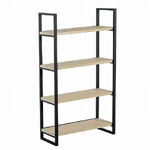 Etagere Metal Et Bois : 25 best ideas about etagere bois et metal on pinterest biblioth que en m tal pied metal and ~ Teatrodelosmanantiales.com Idées de Décoration