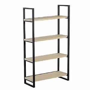 Equerre Etagere Bois : 25 best ideas about etagere bois et metal on pinterest ~ Premium-room.com Idées de Décoration