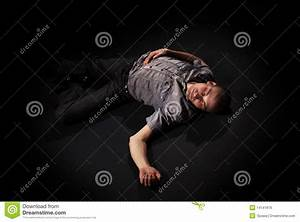 Dead Body Lying On Floor Royalty Free Stock Image - Image ...