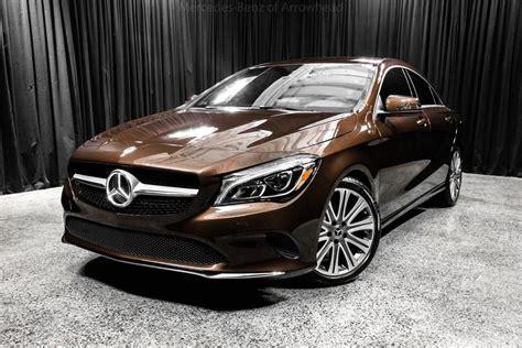 2018 Mercedes-benz Cla 250 4matic® Coupe Peoria Az 20737643