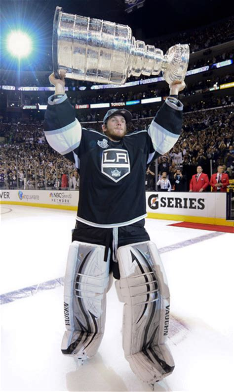 jonathan quick  nhls  underpaid stanley cup