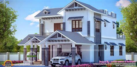 beautiful kerala model house
