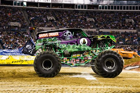 how many monster trucks are there in monster jam grave digger monster truck fast car