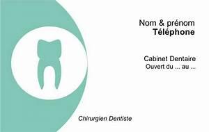 Carte De Visite Original : carte de visite chirurgien dentiste cabinet mod le original gratuit en ligne ~ Melissatoandfro.com Idées de Décoration
