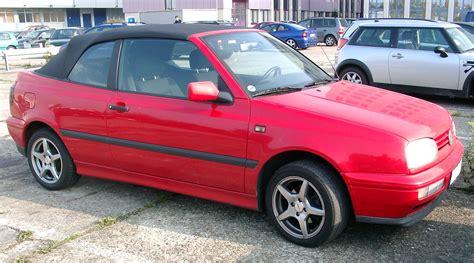 vw golf cabrio файл vw golf 3 cabrio front 20071009 jpg википедия