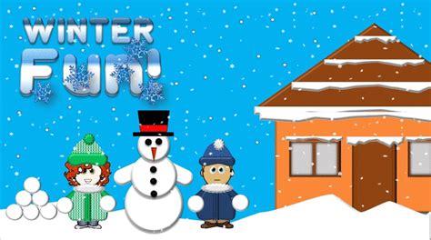 winter activities games  worksheets  kids